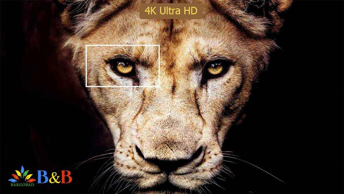 کیفیت تصویر تلویزیون سونی X8000H