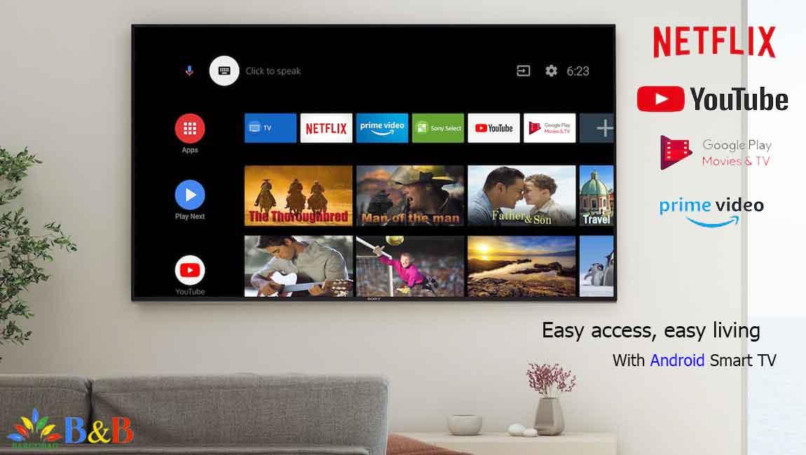 امکانات هوشمند تلویزیون سونی X9500H