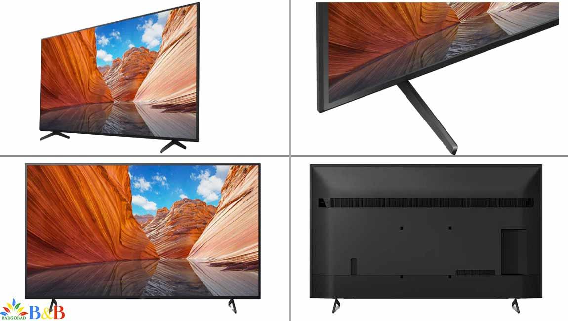 طراحی تلویزیون سونی X8000J