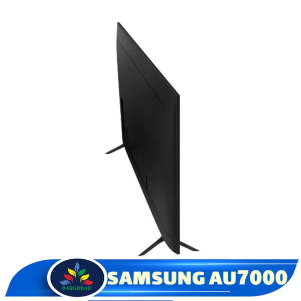 نمای پشت تلویزیون AU7000