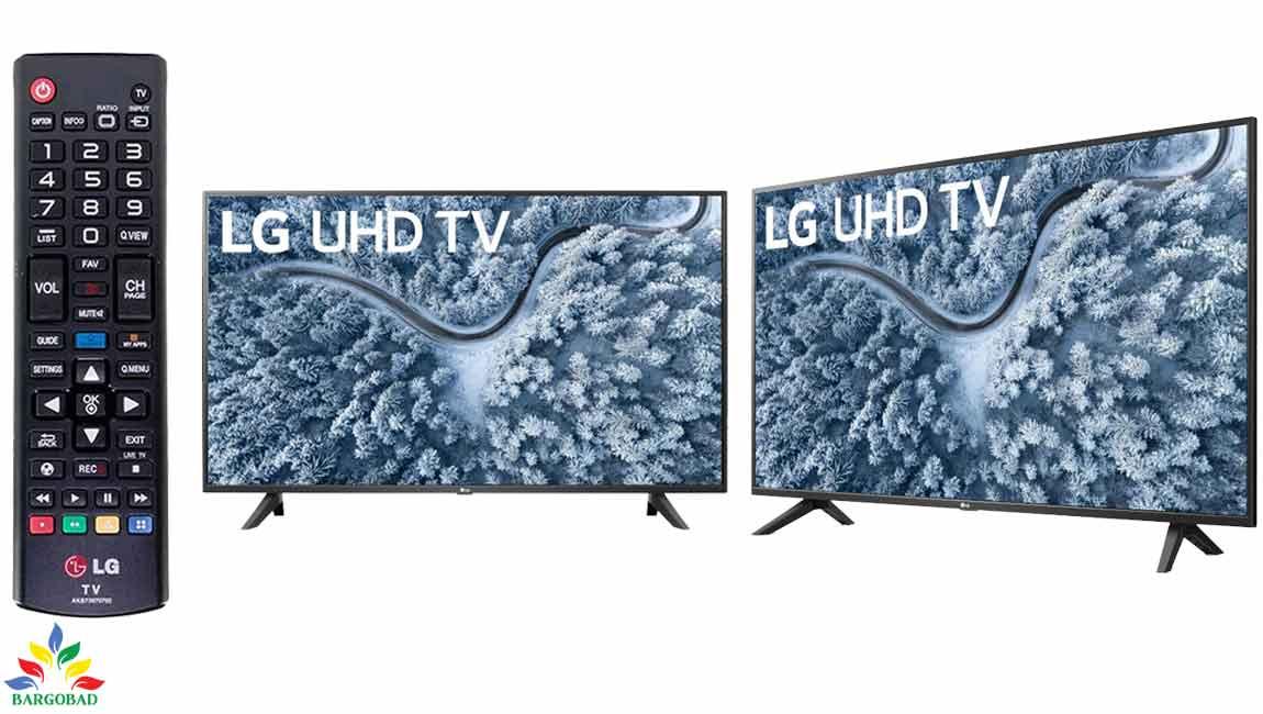 طراحی تلویزیون ال جی UP7000