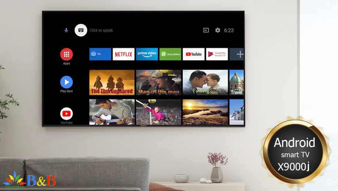 تلویزیون هوشمند سونی x9000j