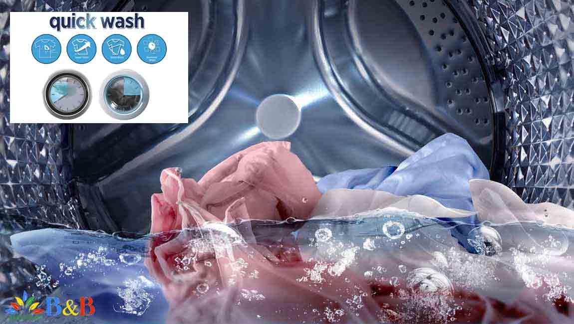 برنامه شستشوی سریع در لباسشویی 1433