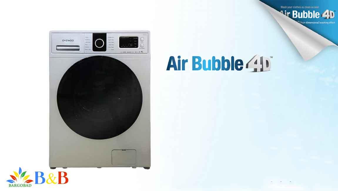 قابلیت Air Bubble 4D در ماشین لباسشویی 1443
