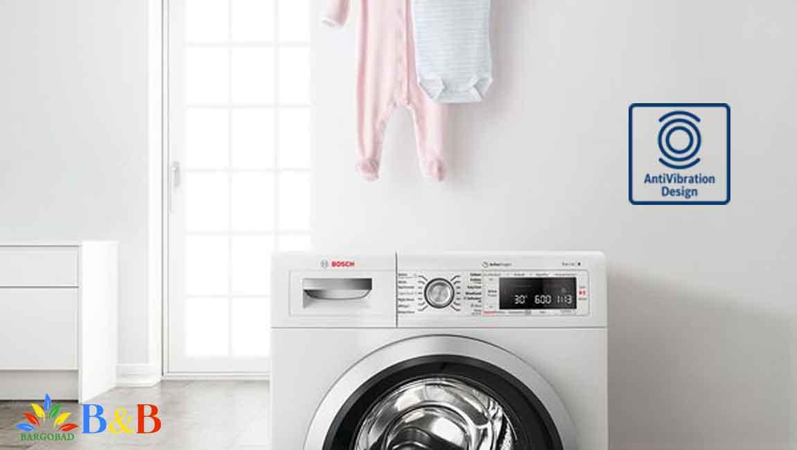 فناوری anti-vibration در لباسشویی بوش 28590