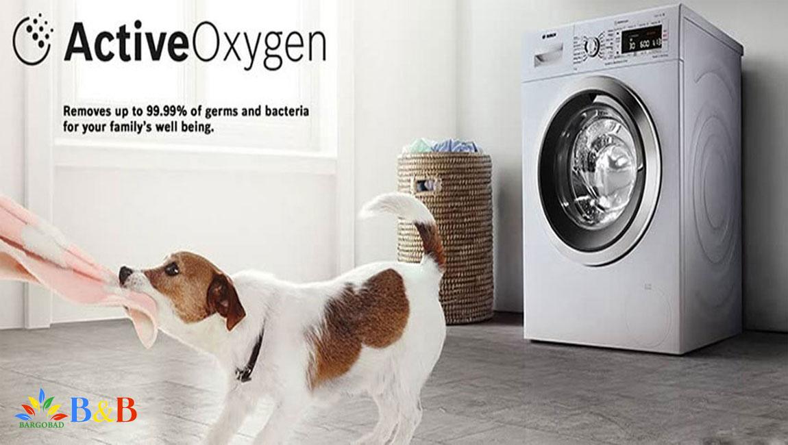 قابلیتActiveOxygen در لباسشویی بوش 28790