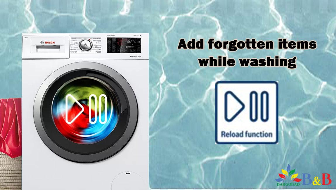 امکان اضافه کردن لباس ها در حین شستشو در لباسشویی 28MX0ME