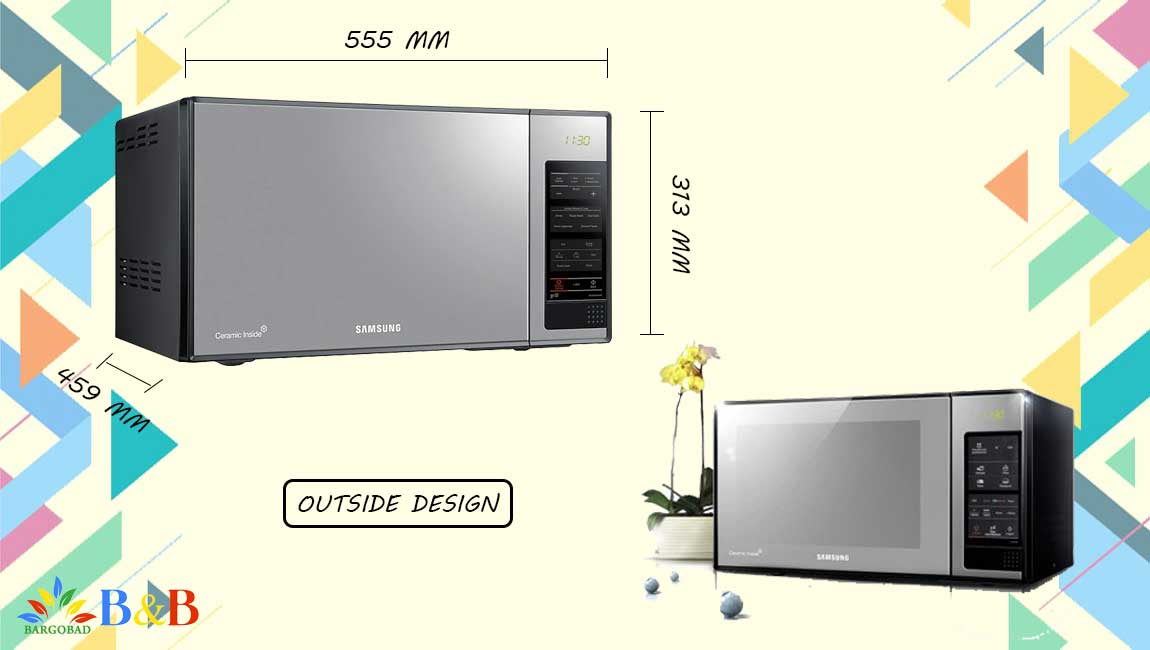 طراحی مایکروویو سامسونگ 402