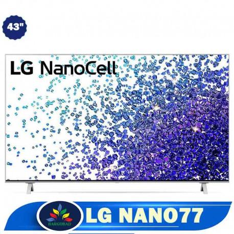 تلویزیون 43 اینچ ال جی NANO77