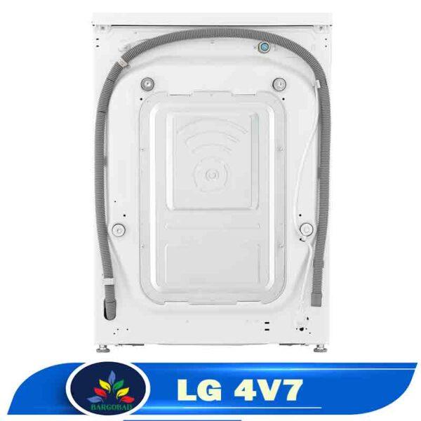 پشت لباسشویی ال جی 4V7