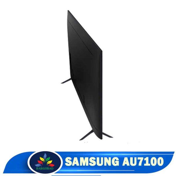 نمای پشت تلویزیون سامسونگ AU7100