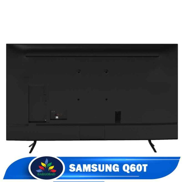 نمای پشت تلویزیون سامسونگ Q60T