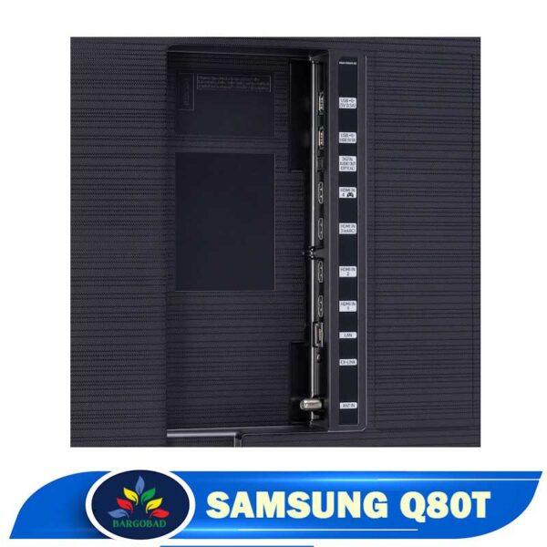 پورت های تلویزیون سامسونگ Q80T