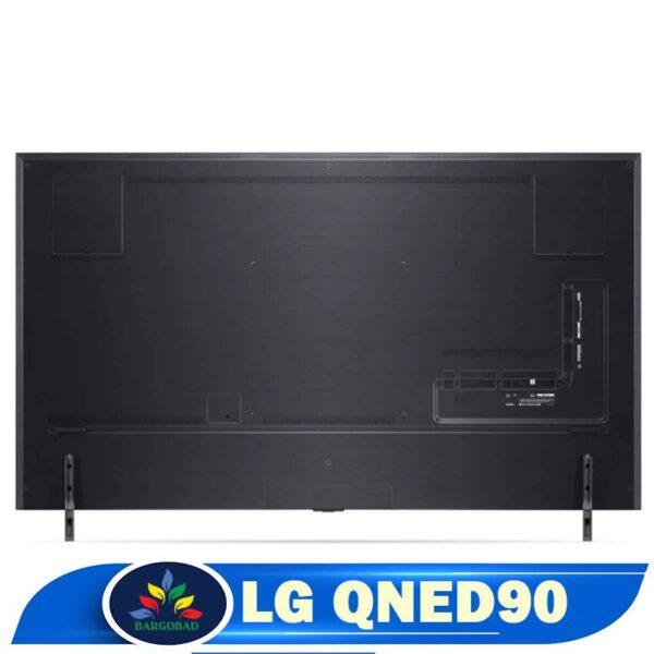 پشت تلویزیون ال جی QNED90