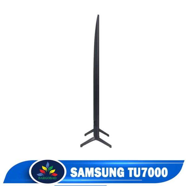 ضخامت تلویزیون سامسونگ TU7000