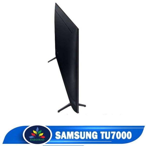 نمای پشت تلویزیون سامسونگ TU7000
