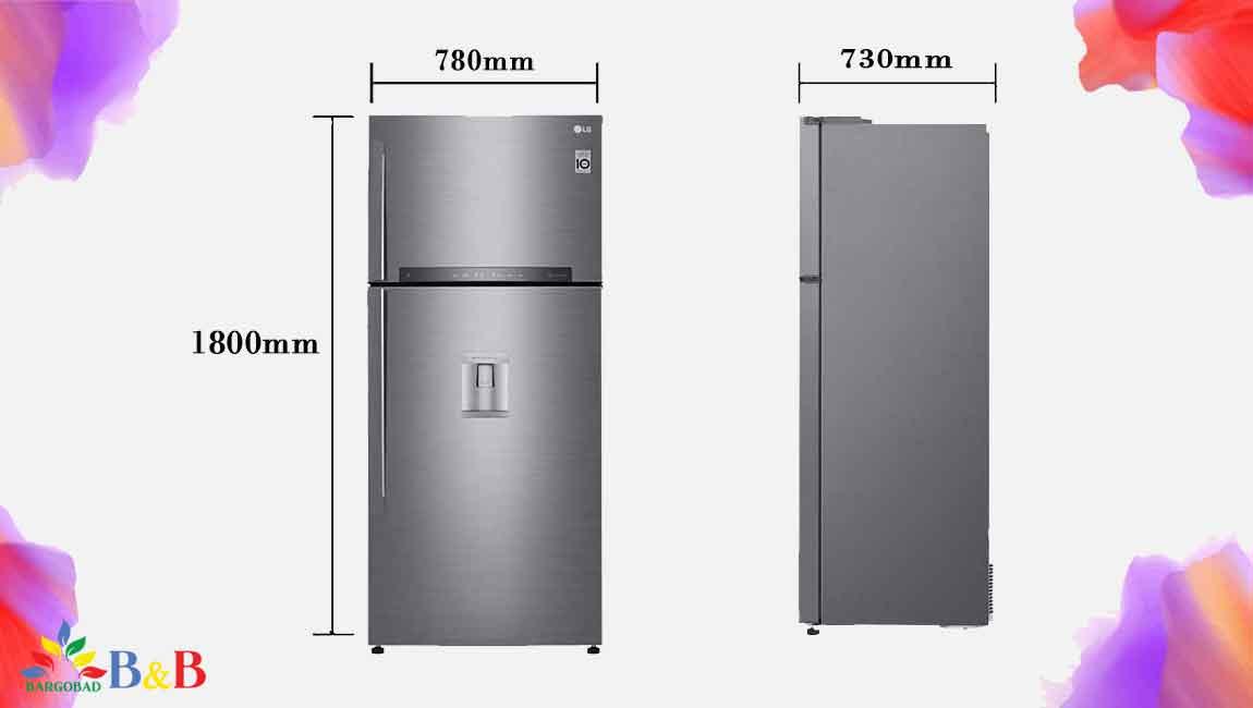 طراحی یخچال 682 ال جی