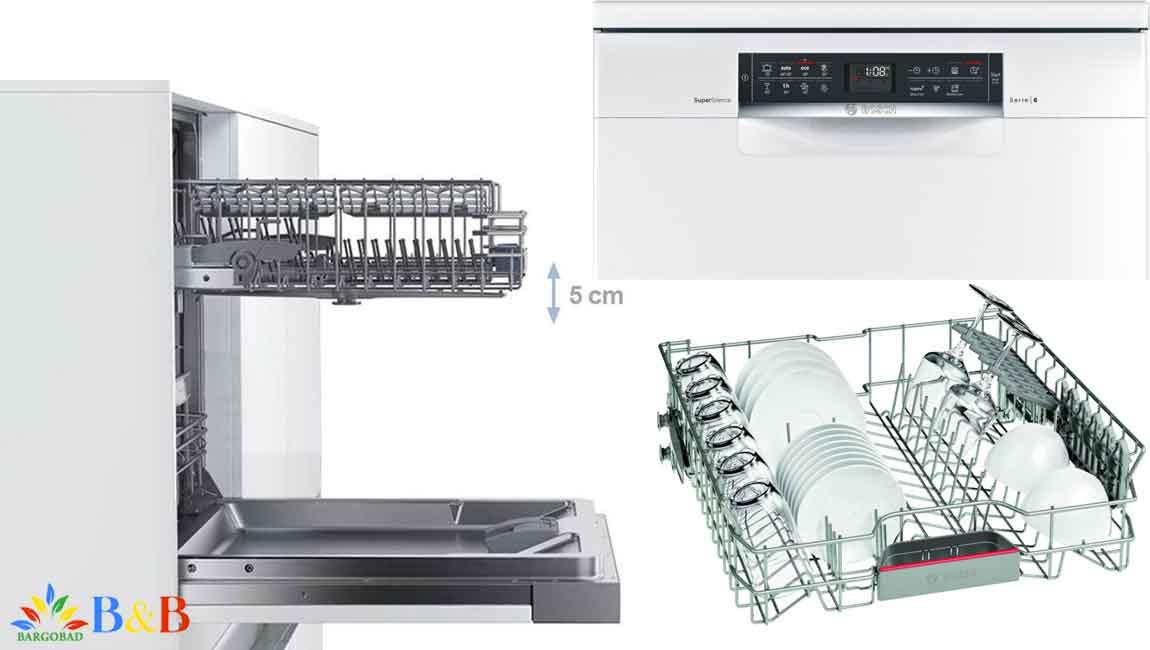 طراحی ماشین ظرفشویی بوش SMS68MW02E