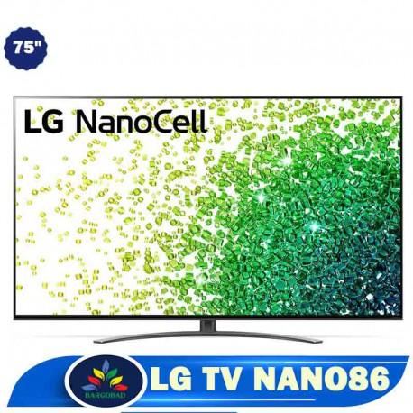 تلویزیون 75 اینچ ال جی NANO86