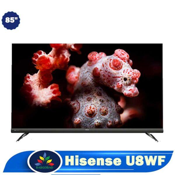 تلویزیون 85 اینچ هایسنس U8WF