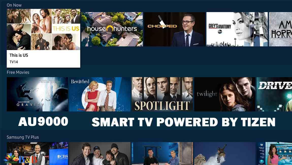 تلویزیون هوشمند AU9000
