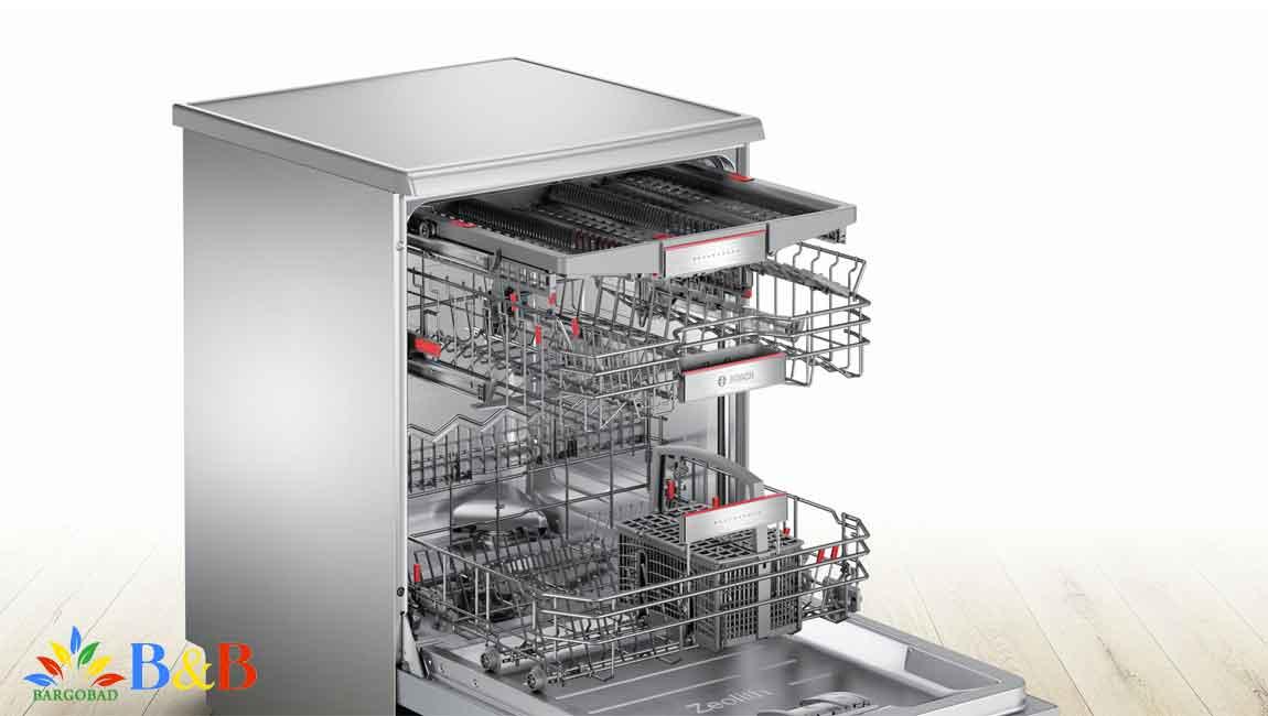 قابلیت IntensiveZone در ظرفشویی بوش SMS67MI02T