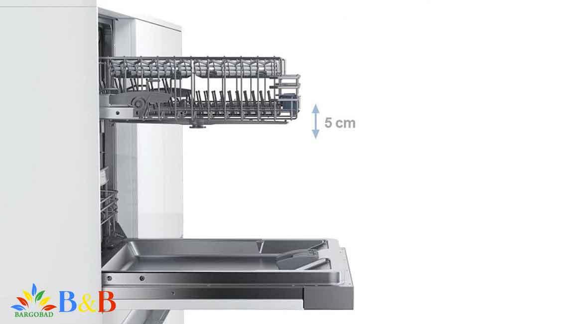 ابعاد و اندازه ماشین ظرفشویی بوش 67MI02T