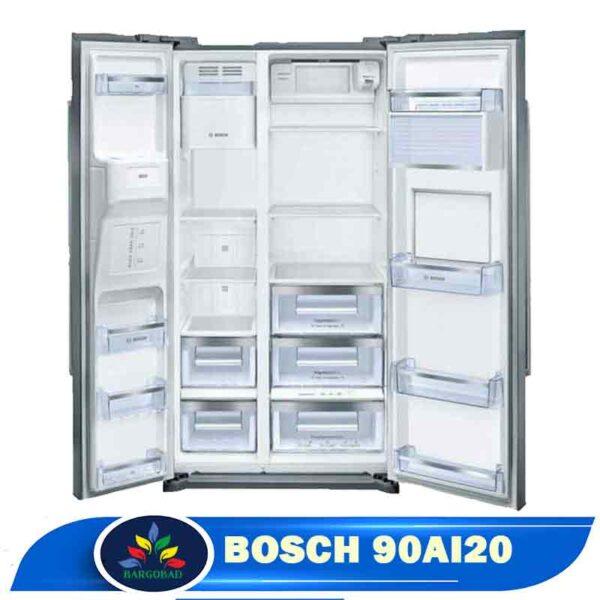 فضای داخل یخچال ساید بای ساید 28 فوت بوش 90AI20