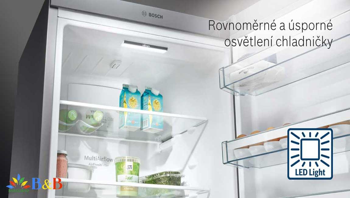 طراحی داخلی یخچال 90ai20 بوش