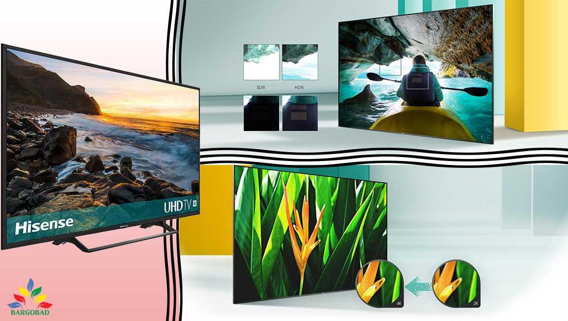 کیفیت تصویر تلویزیون هایسنس A7300