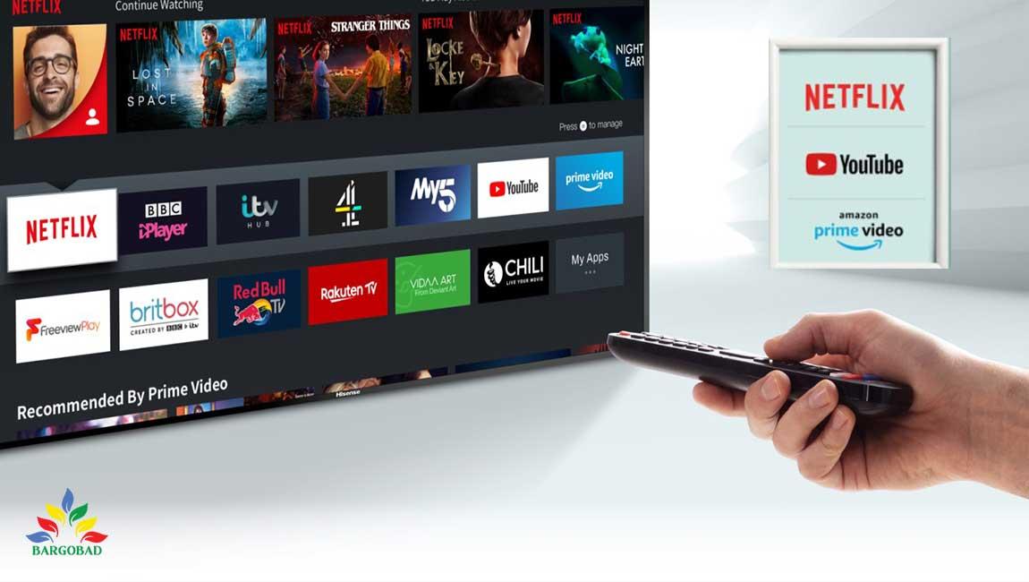 امکانات هوشمند تلویزیون هایسنس A7300
