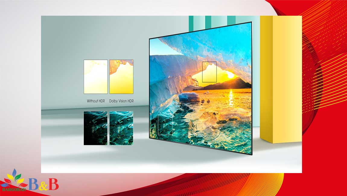 کیفیت تصویر تلویزیون هایسنس A7500