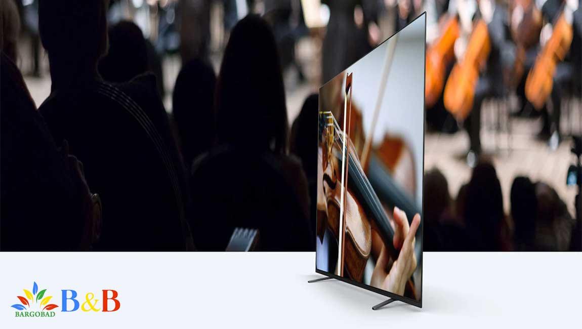 سیستم صوتی در تلویزیون SONY TV 65A8H