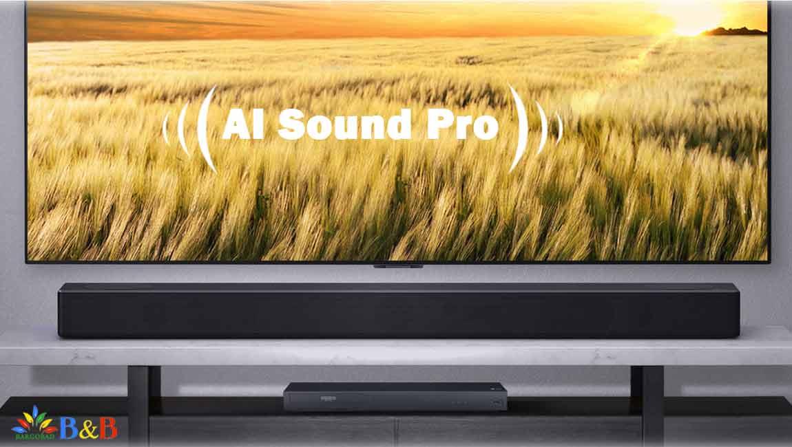 فناوری AI Sound Pro در ساندبار SN7Y
