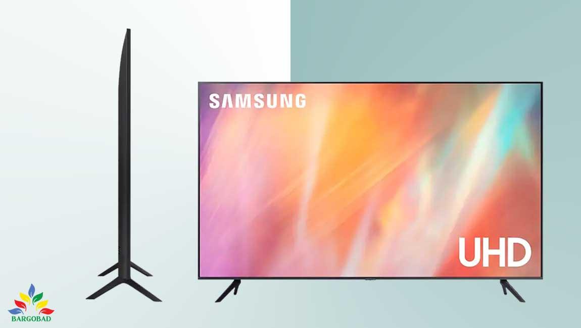 طراحی تلویزیون سامسونگ AU7100