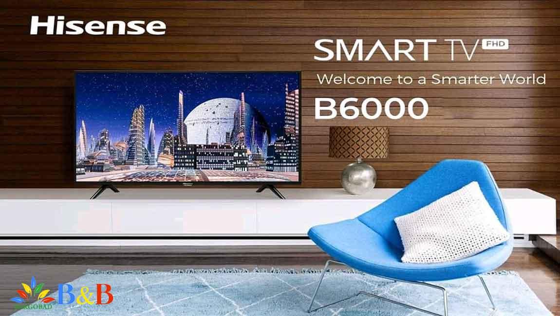 مقدمه ی تلویزیون هایسنس B6000