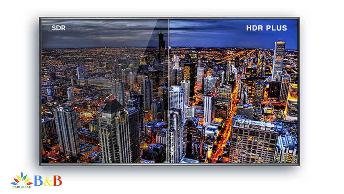قابلیت HDR در تلویزیون هاینسنس 50B7100