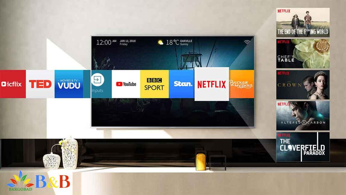 امکانات هوشمند تلویزیون 65 اینچ فورکی هایسنس