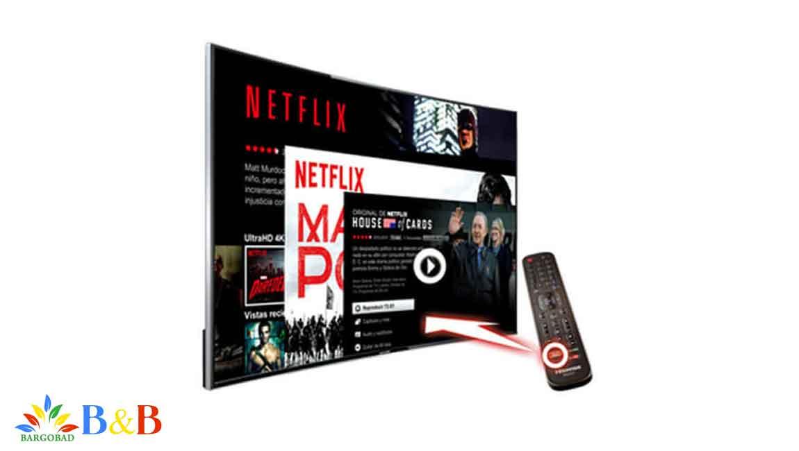 پشتیبانی از Netfilx و Amazon در تلویزیون هایسنس B7300