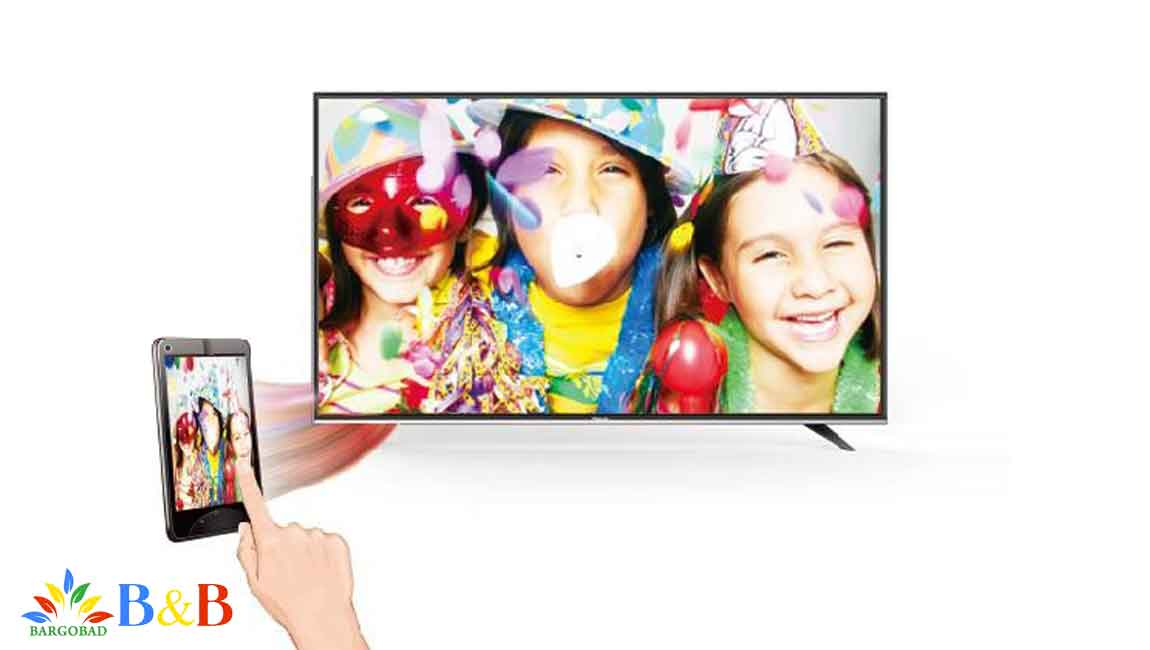 اتصال راحت و آسان به گوشی در تلویزیون هایسنس B7300
