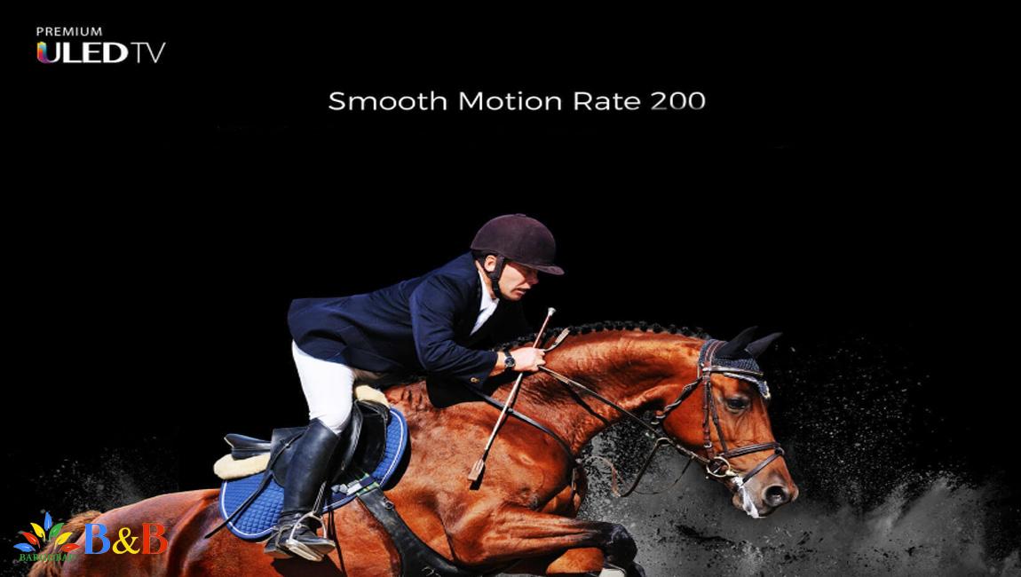 Smooth Motion Rate در تلویزیون هایسنس B8000