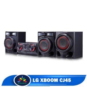 نمای کناری سیستم صوتی ال جی CJ45