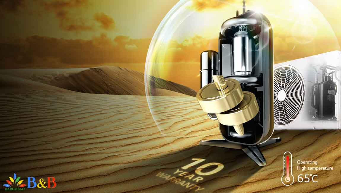 تکنولوژیDual Inverter کولر گازی ال جی 12000