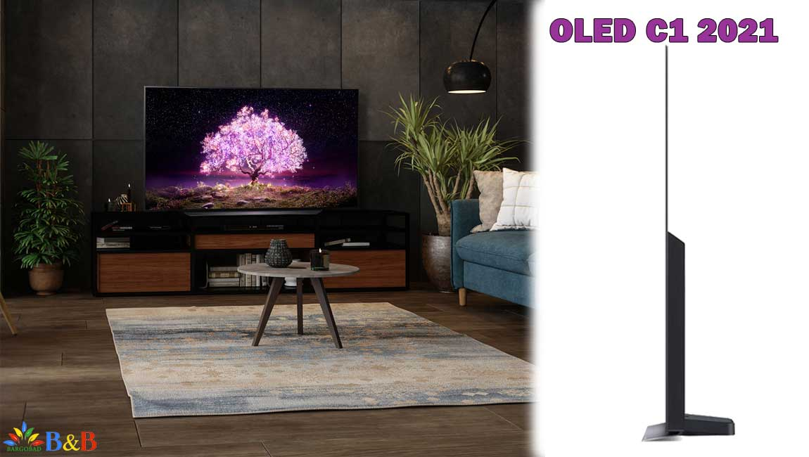 طراحی تلویزیون اولد ال جی C1