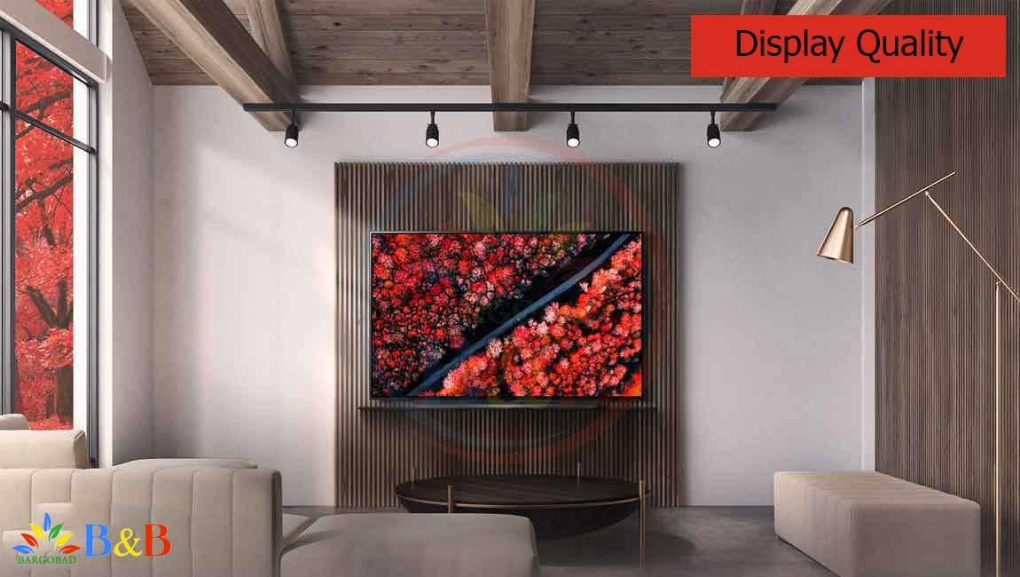 کیفیت تصویر تلویزیون 55 اینچ ال جی C9