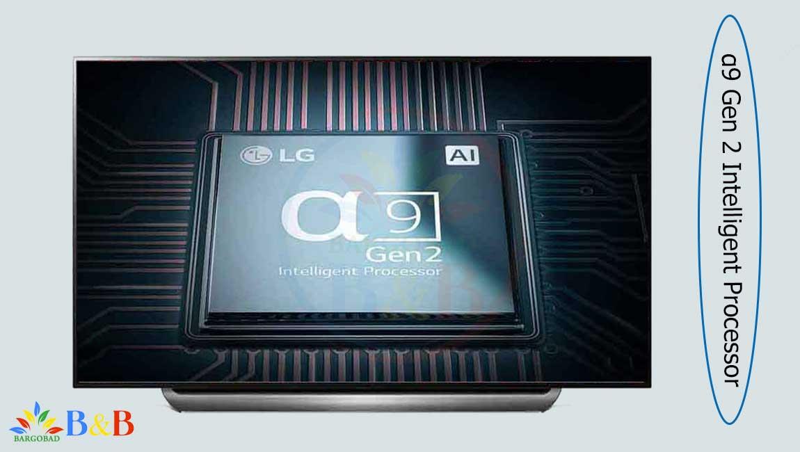 پردازنده ی نسل 9 در تلویزیون 55 اینچ ال جی C9