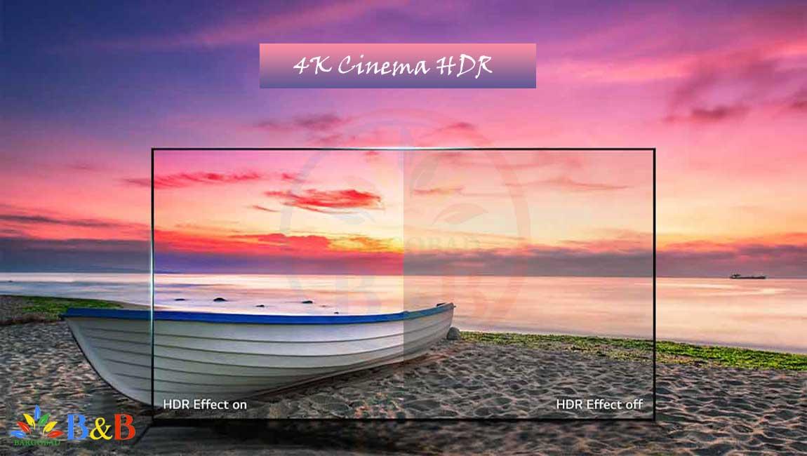 قابلیت HDR در تلویزیون 55 اینچ ال جی C9