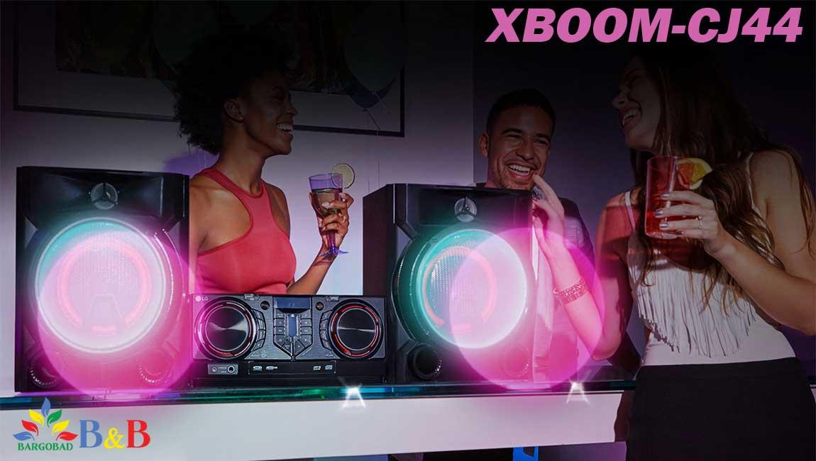 قابلیت DJ با سیستم صوتی CJ44