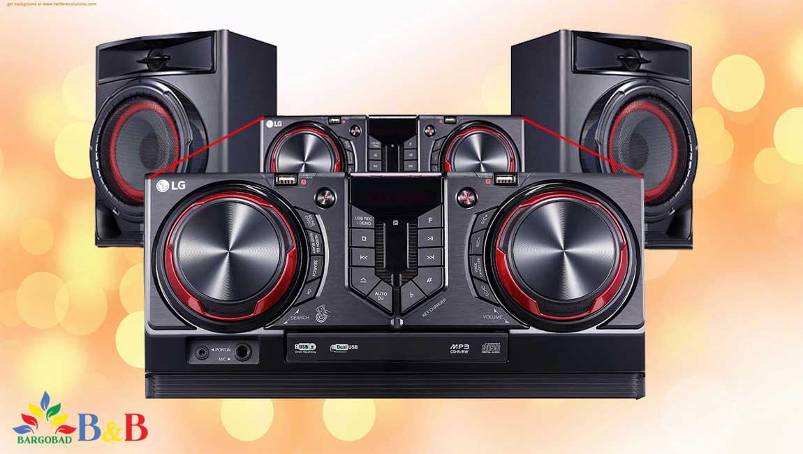 طراحی سیستم صوتی ال جی CJ44