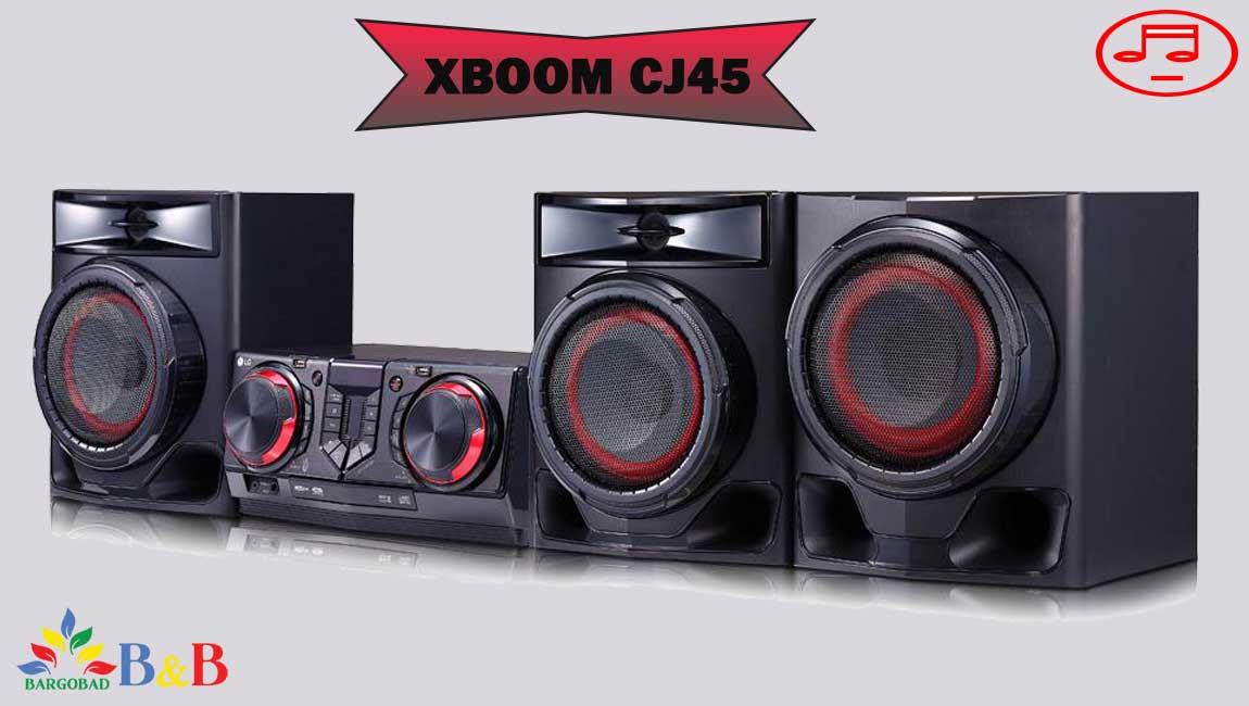 معرفی سیستم صوتی ال جی CJ45